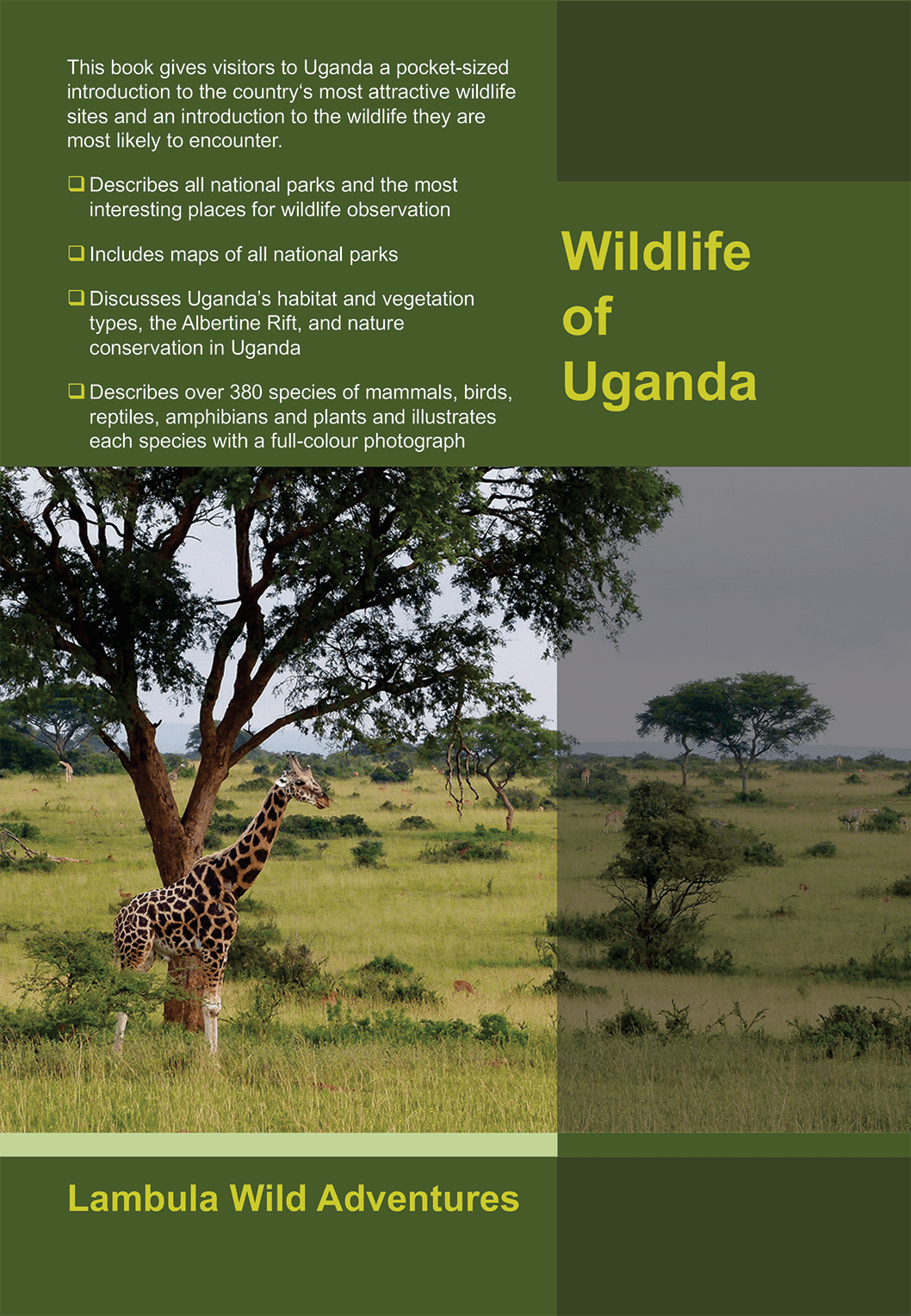 Buch Wildlife of Uganda Back 1