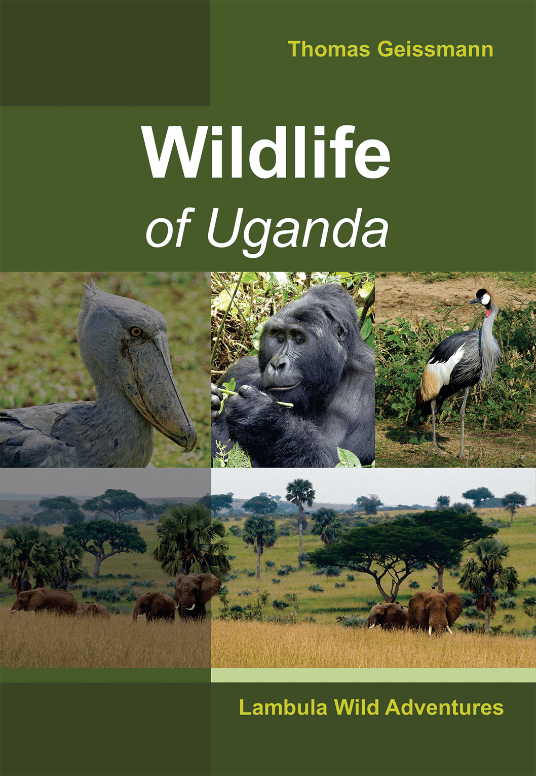 Buch Wildlife of Uganda Cover 1